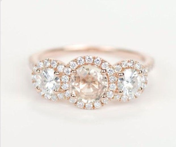 Stunning engagement rings.