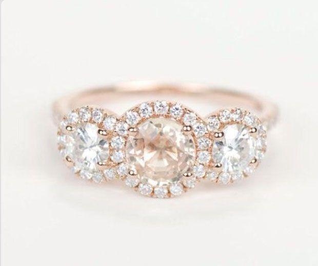 Stunning engagement rings.
