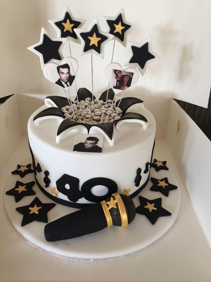 Robbie Williams cake