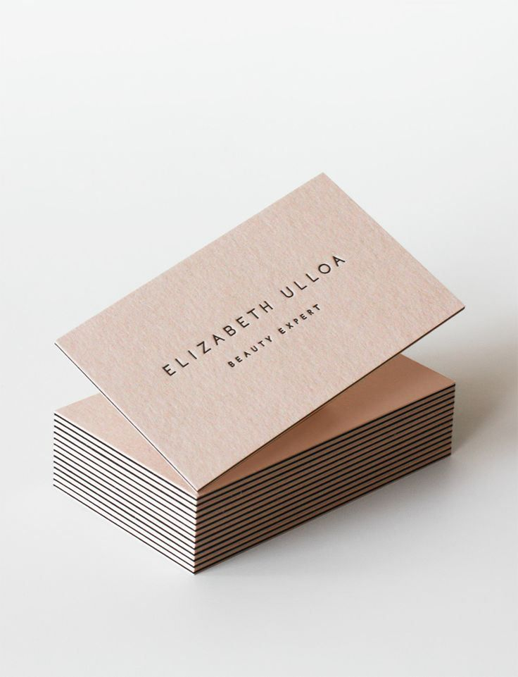 Identity  : Minimal Examples of Business Cards Design