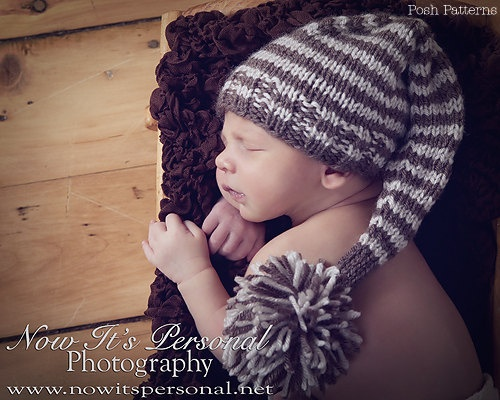 Knitting Pattern For Baby Elf Hat : Knitting PATTERNS - Elf Hat Knitting Pattern - Knit ...
