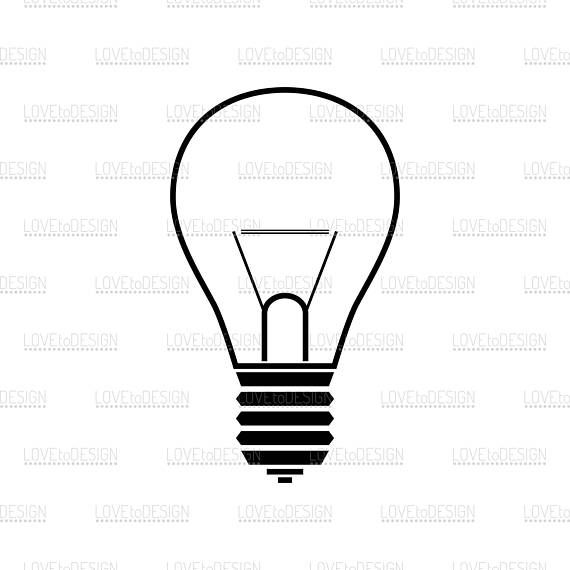 Light Bulb Lamp Svg Electric Lamp Light Bulb Svg Light Etsy Electric Lamp Light Bulb Light Bulb Lamp