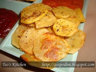 Chipsuri dietetice la cuptor | Retete usoare & retete ilustrate