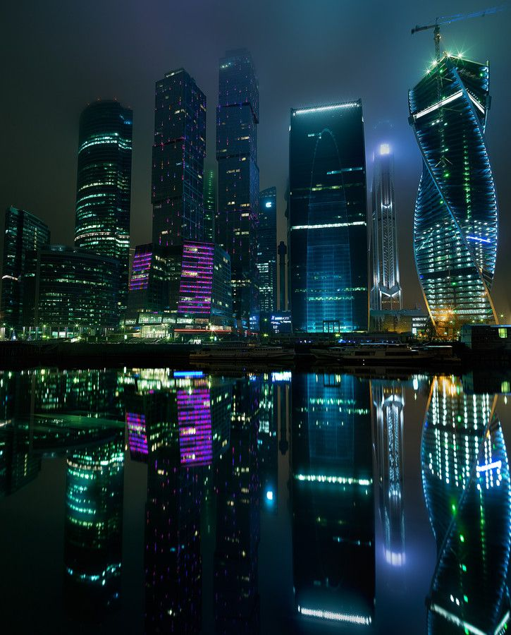 Moscow City Business Center | Russia (by Dmitry)