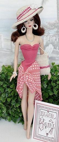 Fun In The Sun - crochet hat & purse