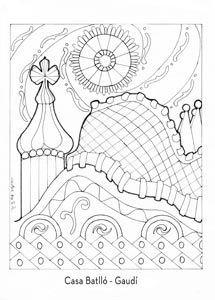 gaudi style architectual drawings - Google Search