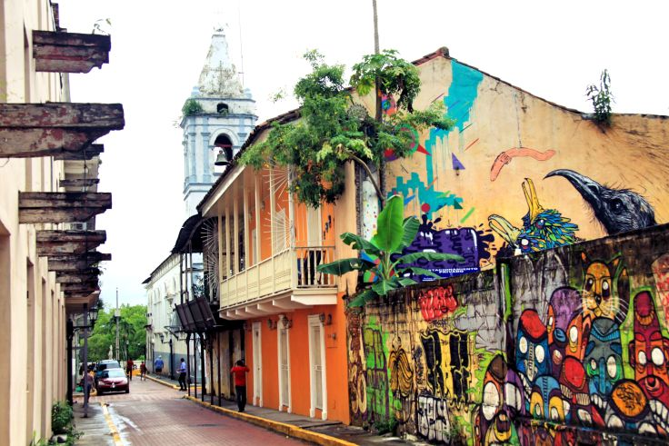Les rues de la ville de Panama nous réservent parfois des surprises comme celle-ci / The streets of Panama City often surprise us | Panama City, Panama