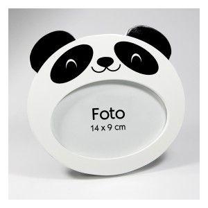 Porta retrato en forma de oso panda para foto de 14 x 9 cm  PRECIO: $14.300 COP