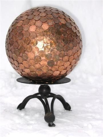 A Luxurious Copper Floor for Pennies and 7 Other Penny Decor Projects #SellYourCrafts #homeupgrade
