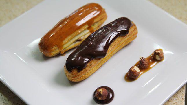 Duo éclairs caramel et chocolat   Ça va chauffer! saison 3   CASA