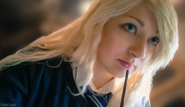 Luna Lovegood cosplay from the Harry Potter universe. Cosplay, photo and edit by Pixiedust Cosplay.