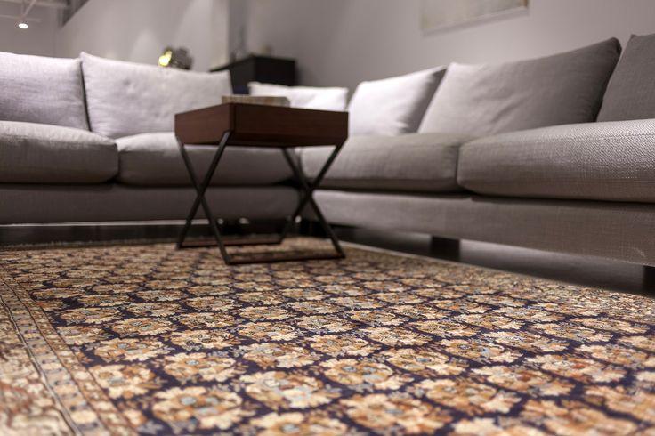 Dywany klasyczne w nowoczesnych wnętrzach