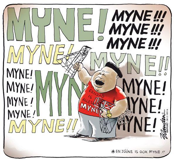 Alles is Myne *En joune is ook myne...