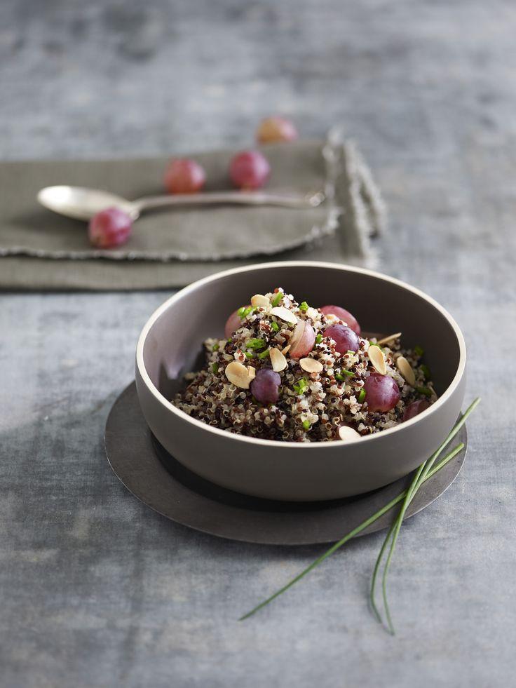 Découvrez la recette du quinoa noir
