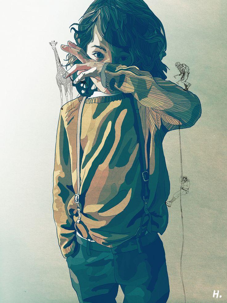 ▲ LITTLE BOY ▼ by Graphik H