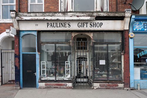 Pauline's Gift Shop - a dusty little shop own by a batty woman. Kingston upon Hull, East Yorkshire, England