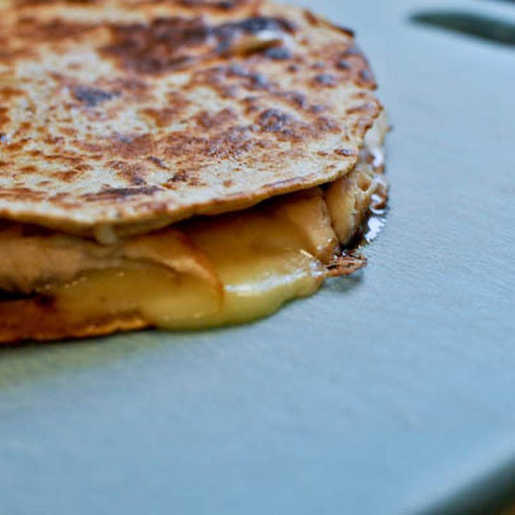 Turkey, Brie & Cranberry Quesadilla Recipe