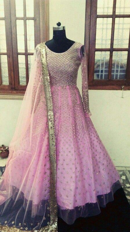 #pink #suit #handwork #bridal wear