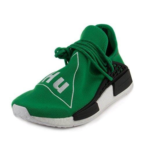 adidas mens pw human race nmd green white mesh size 7 mens