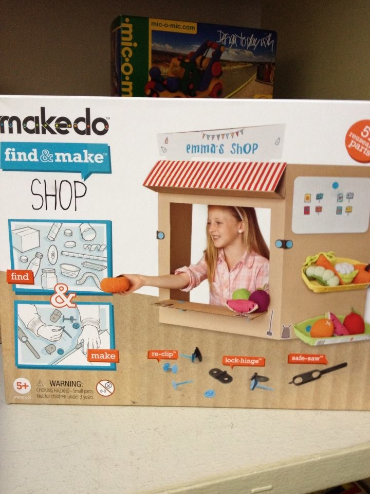 Loving Makedo. We're developing our toy/gift products. $20