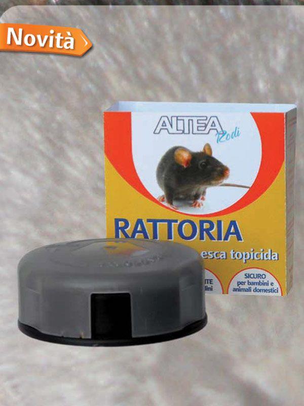 RATTORIA EROGATORE DI ESCA RATTICIDA, PRONTO ALL'USO, PER IL CONTROLLO DEI TOPI https://www.chiaradecaria.it/it/trappole-per-topi/15195-rattoria-erogatore-di-esca-ratticida-pronto-alluso-per-il-controllo-dei-topi.html