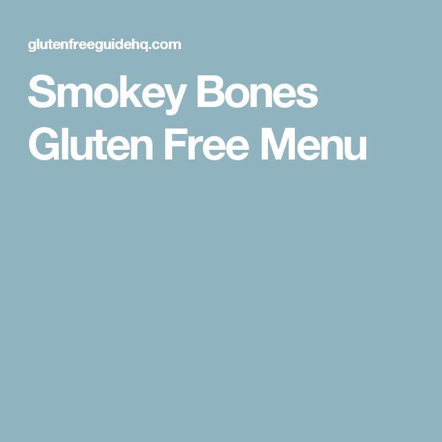 Smokey Bones Gluten Free Menu