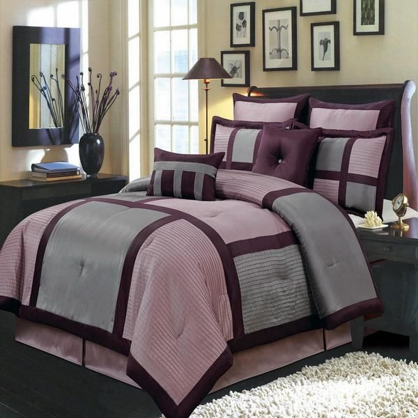 25 best ideas about purple grey bedrooms on pinterest 12971 | 82fa7bb707f6fbc24667c8934d60045f