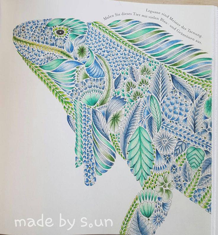 Milliemarotta Tropicalwonderland Fantastischetropen Coloringbookforadults ColouringColoring BooksAdult
