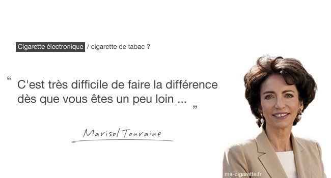 Retranscription de l'intervention de la ministre des Affaires sociales et de la Santé, Marisol Touraine, au sujet de la cigarette électronique. (Le Mouv, 9 sept 2013)