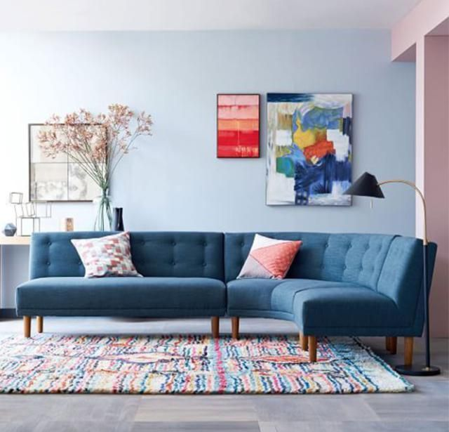 3 Trending Color Palettes For Spring: Pastels With Blue http://interiordec.about.com/od/AphroChic-Color-Crush/ss/3-Trending-Color-Palettes-For-Spring.htm