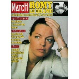 Paris Match - n°1677 - 17/07/1981 - Romy Schneider : la mort de David [magazine mis en vente par Presse-Mémoire]