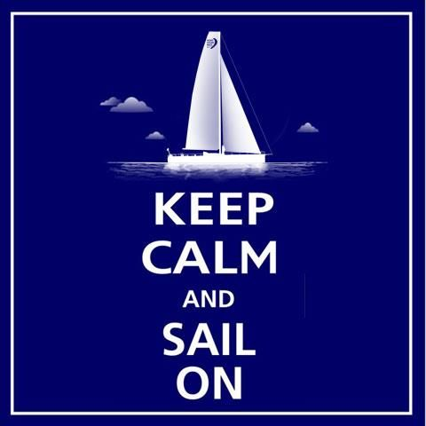 Volvo Ocean Race leg 6 - Keep calm and Sail on