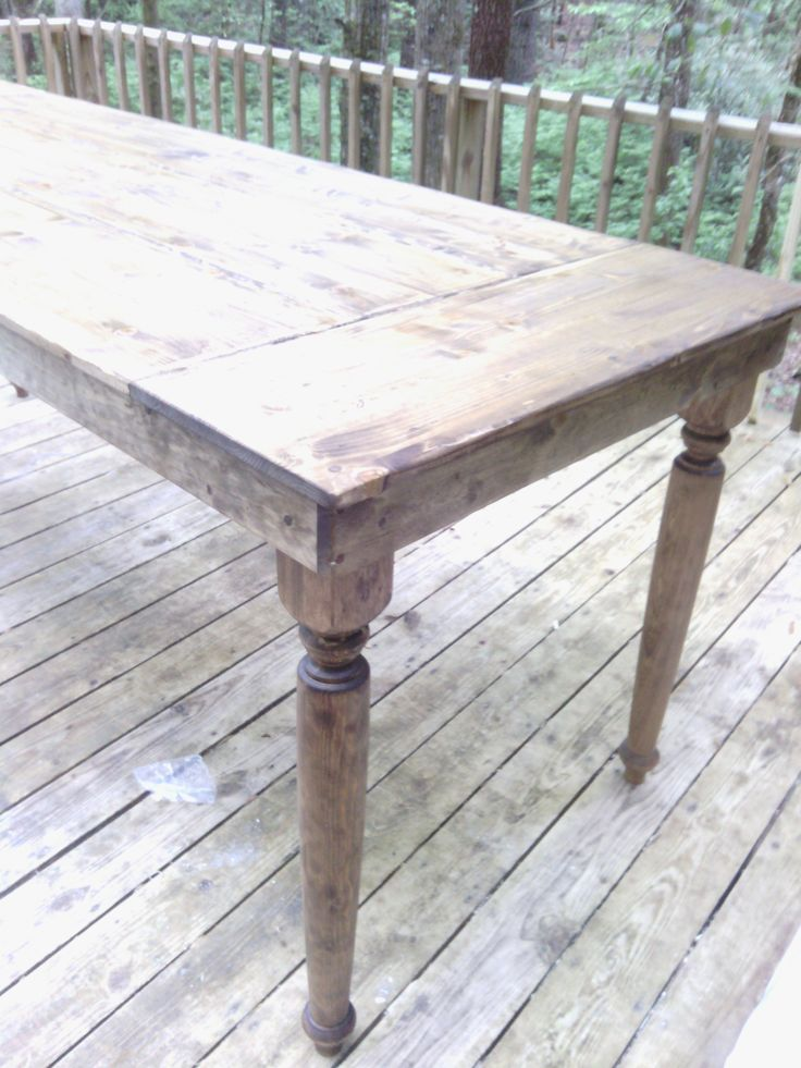 Counter Height Farm Table : day Counter Height Farm Table Project...Done! Cabin Renovation ...