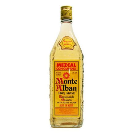 Mezcal Tequila   Monte Alban Mezcal Tequila 750ml - ShopWineDirect