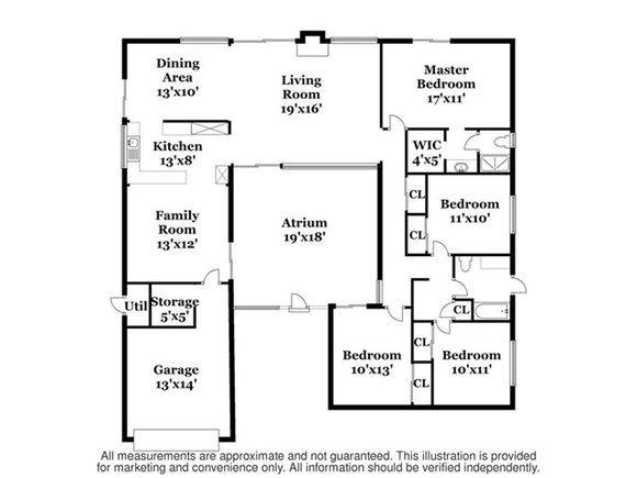 1284 N Linda Vista Street   U shaped house plans, U shaped ... N Shaped House Plans on shaped kitchen, u-shaped courtyard home plans, shaped building, shaped tile, shaped swimming pools, pie-shaped lot home plans,