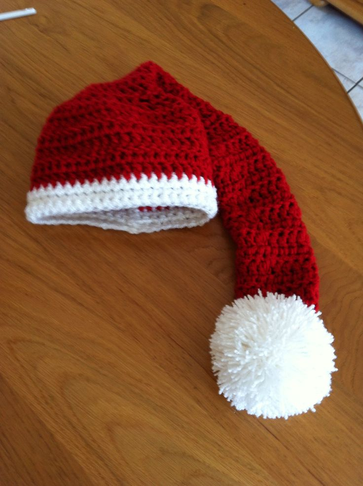 Christmas hat chrochet
