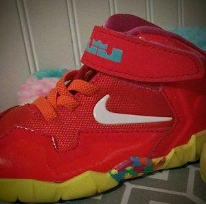 Nike Lebron Fruity Pebbles   Other - Nike  Lebron Fruity Pebbles toddler size 6c..