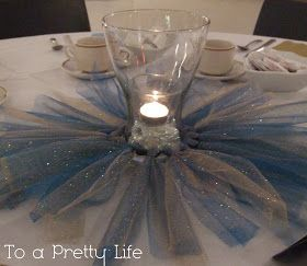 To A Pretty Life: Princess TuTu Centrepieces
