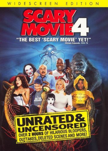 Scary Movie 4 [Unrated] [WS] [DVD] [2006]