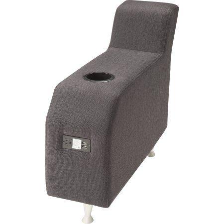 Lorell Fuze Modular Lounge Series Brown Guest Seating