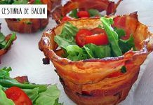 Cestinha de Bacon