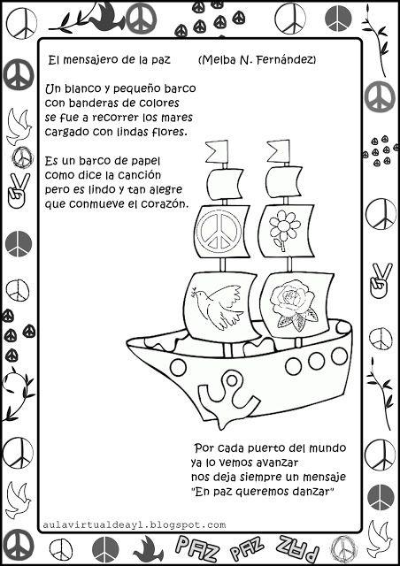 Aula virtual de audición y lenguaje: Poemas de la PAZ