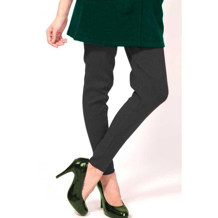 Grey Color Legging Online http://www.andaazfashion.co.uk/womens/legging-s-salwar