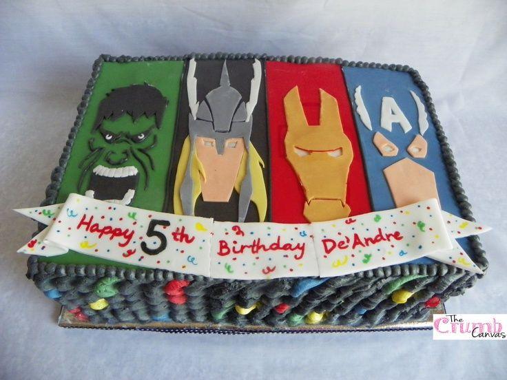 Avengers Birthday Cake Design : 17 Best images about Cakes on Pinterest Avenger cake ...