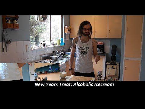 New Years Treat Alcoholic Icecream