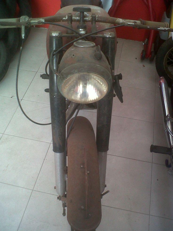Bianchi Pordoi 174cc 1954 prima del restauro