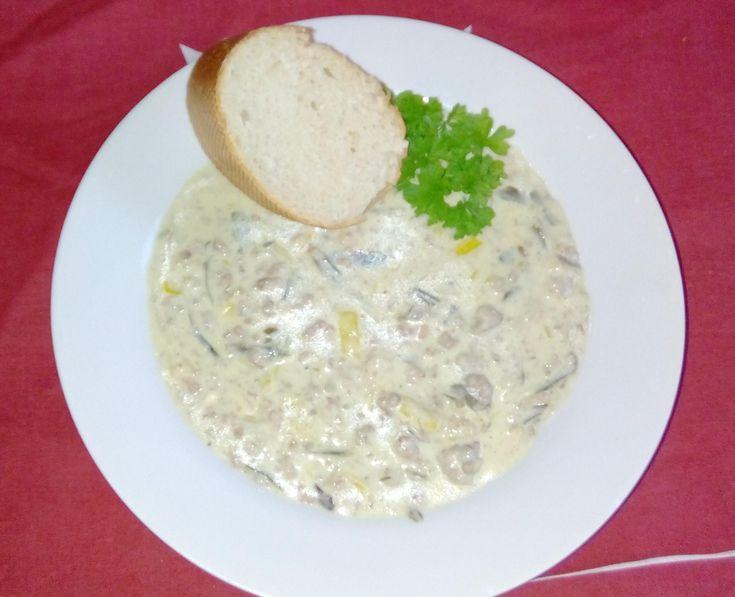 Hackfleisch-Käse-Lauch Suppe von TiSa2827 auf www.rezeptwelt.de, der Thermomix ® Community