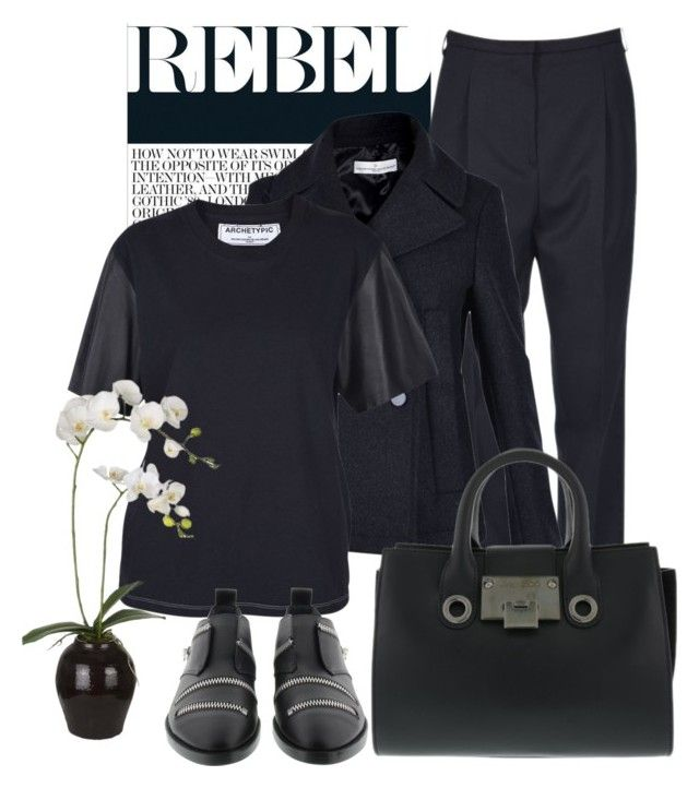 Rebel by brunarosso-eshop on Polyvore featuring moda and Sia