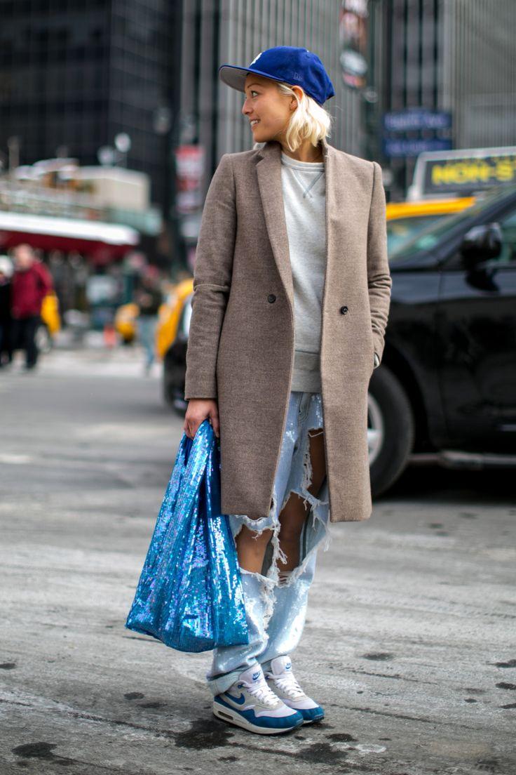 Street fashion: NYFW jesień-zima 2014/2015, dzień 2 i 3, fot. Imaxtree