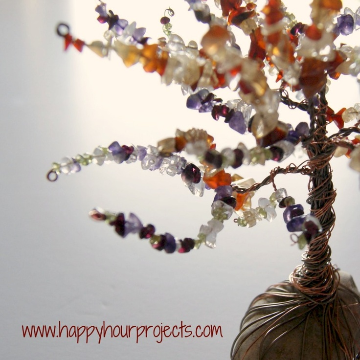 DIY: Wire Wrapped Tree